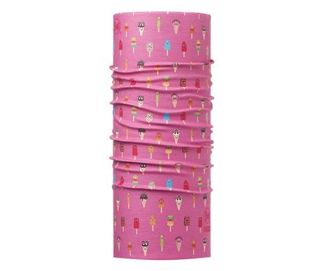 Bandana multifunctionala copii Buff Gelatto Pink 22x49 cm
