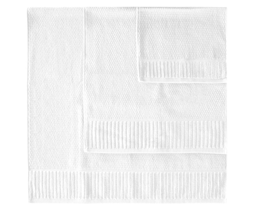 Suprem White 3 db Fürdőszobai törölköző