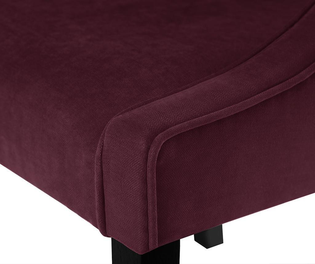 Set 4 scaune Guy Laroche Home Creativity Bordeaux