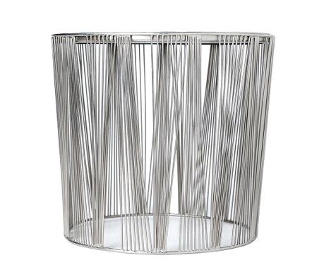 Stripes Silver Asztalka