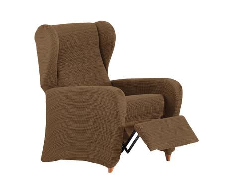 Ελαστικό κάλυμμα πολυθρόνας recliner Aquiles Relax Brown 60-90 cm