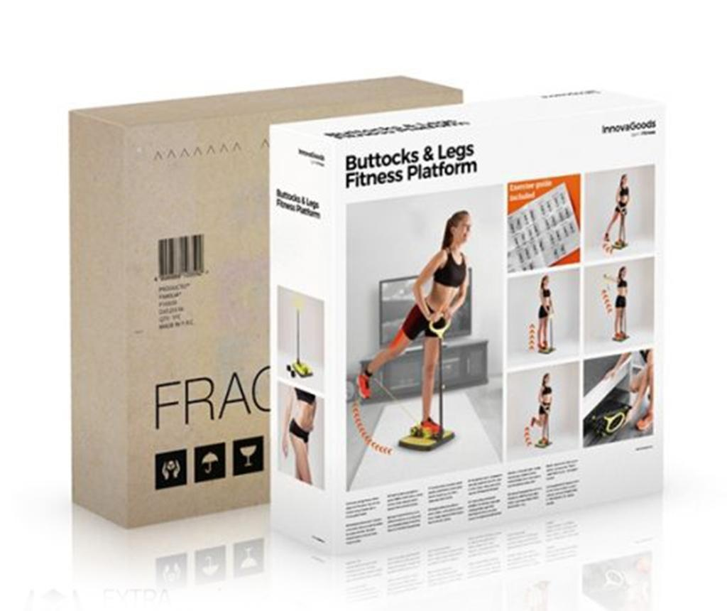 InnovaGoods Glutes and Legs with Exercise Guide Fitness gép