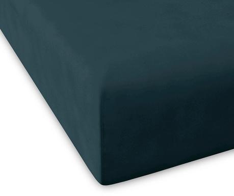 Plahta s elastičnom gumicom Percale Pure Blue