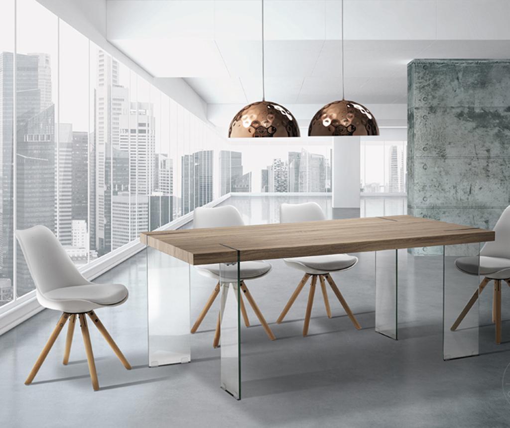 Waver Light Brown Asztal