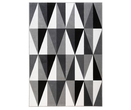 Norik Geometric Grey Szőnyeg 200x290 cm