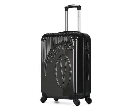 Osaka Dark Grey Gurulós bőrönd 60 L