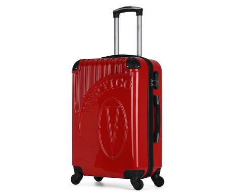 Osaka Red Gurulós bőrönd 36 L