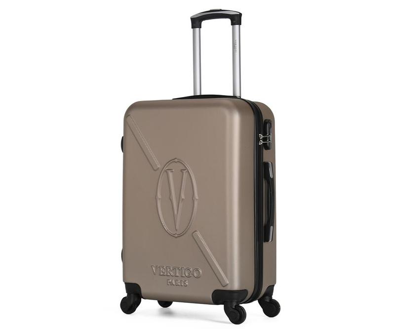 Karachi Gold Gurulós bőrönd 36 L