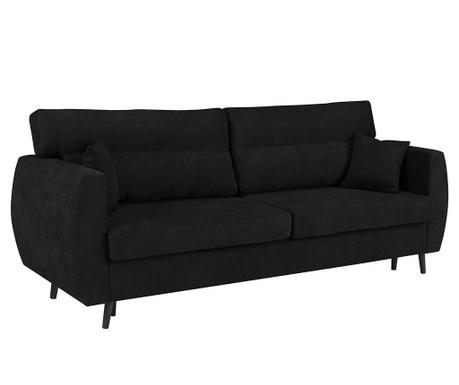Rozkładana kanapa trzyosobowa Brisbane Black