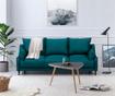 Canapea extensibila 3 locuri Ancolie Turquoise