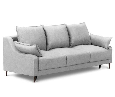 Ancolie Light Grey Háromszemélyes kihúzható kanapé