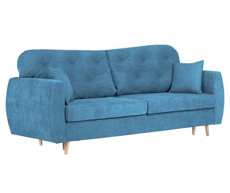 Orchid Blue Háromszemélyes kihúzható kanapé