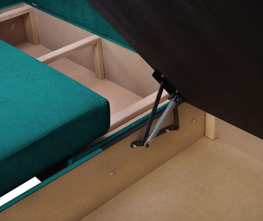 Reverzibilna kutna garnitura na razvlačenje Dover Turquoise