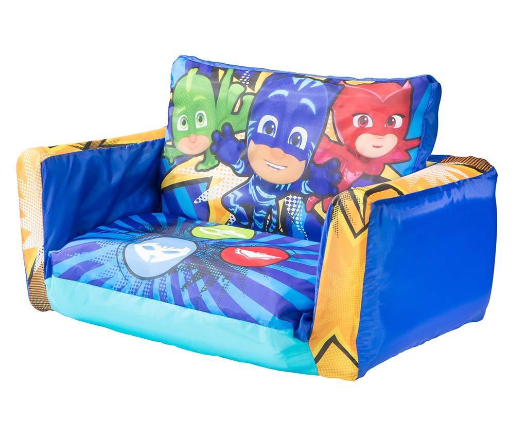 Canapea gonflabila pentru copii PJ Masks