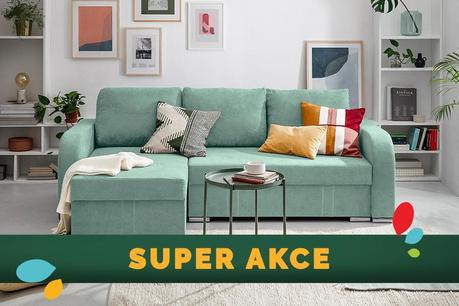 SUPER AKCE: Pohovky, křesla a židle