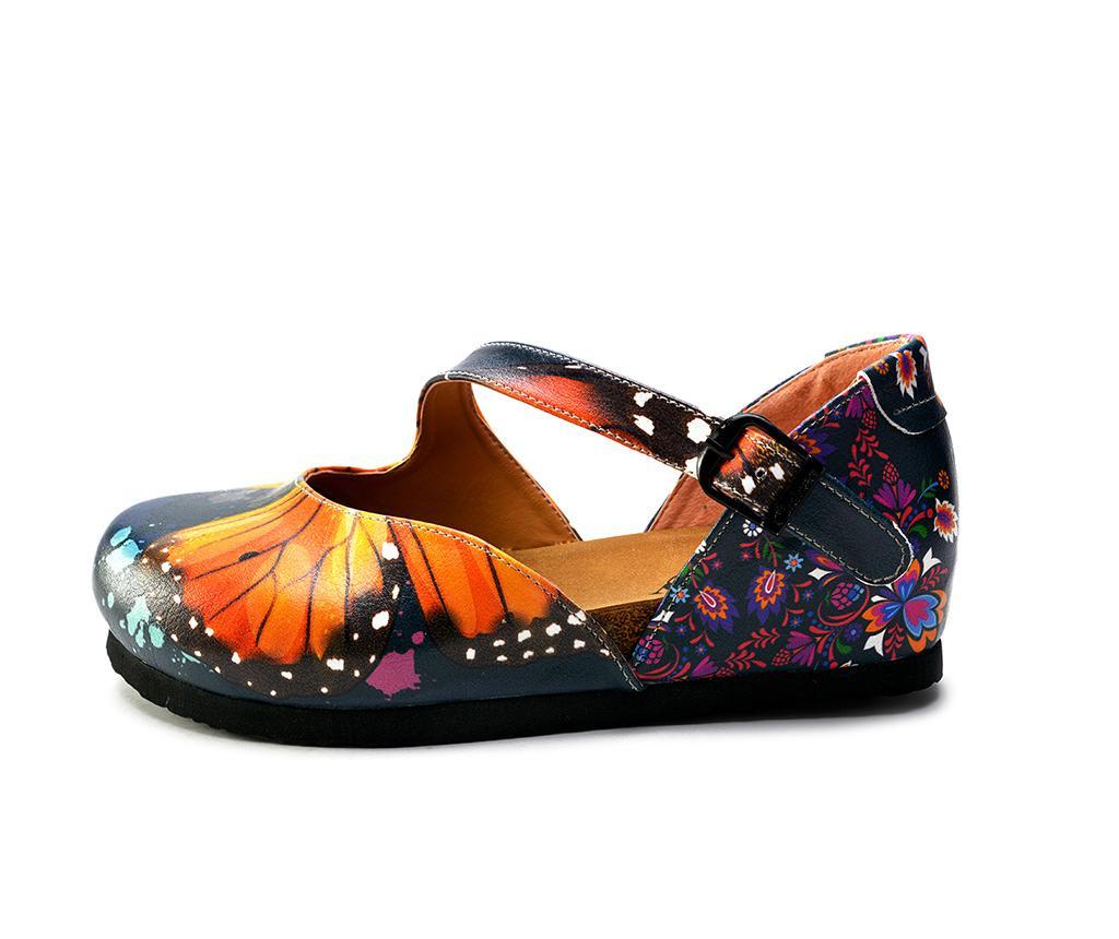 Ženski zaprti sandali Butterfly 39