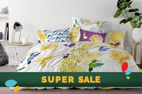 SUPER SALE: Textile pentru dormitor