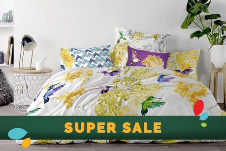 SUPER SALE: Υφάσματα για την κρεβατοκάμαρα