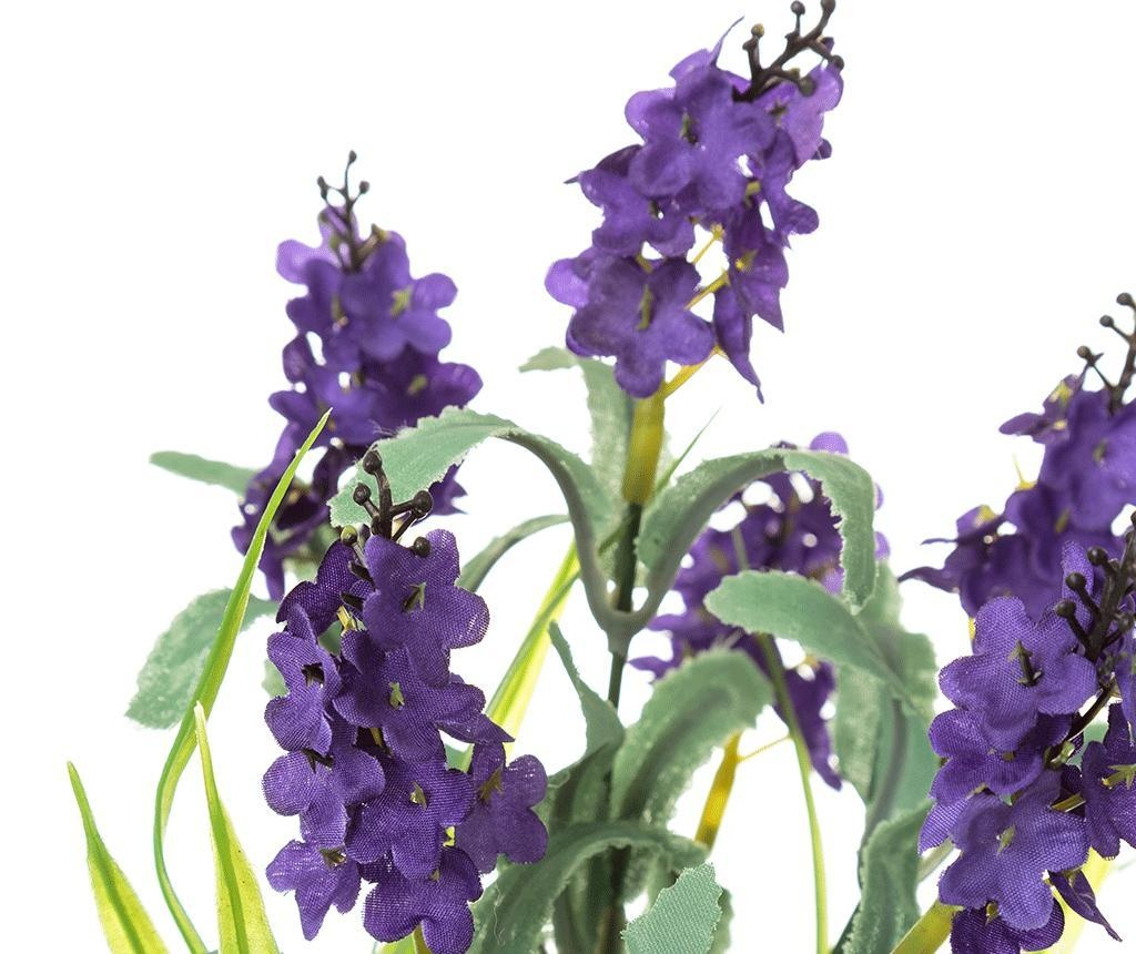 Изкуствено растение в саксия Lavander Purple