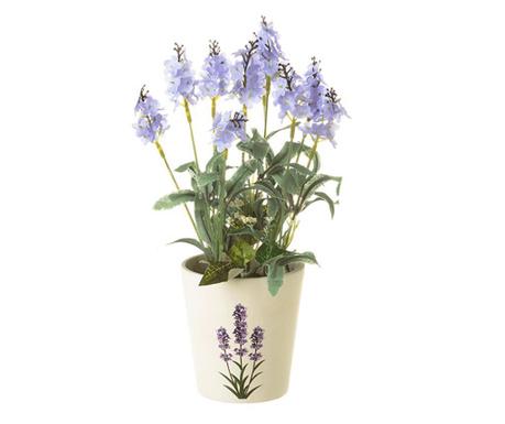 Изкуствено растение в саксия Garden Blue
