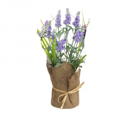 Sztuczna roślina w doniczce Lavander High Blue