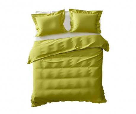 Set de pat Double Percale Extra Feline Green Oasis