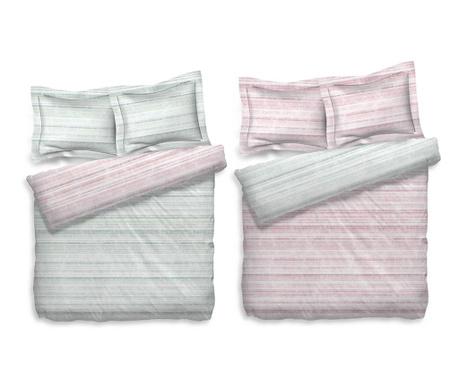 Zestaw na łóżko Reverse Single Extra Clove Pink Green