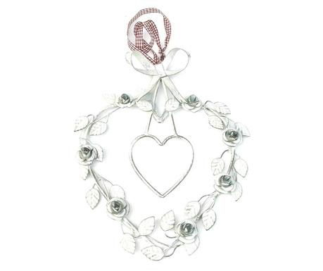 Vintage Heart Felfüggeszthető dekoráció