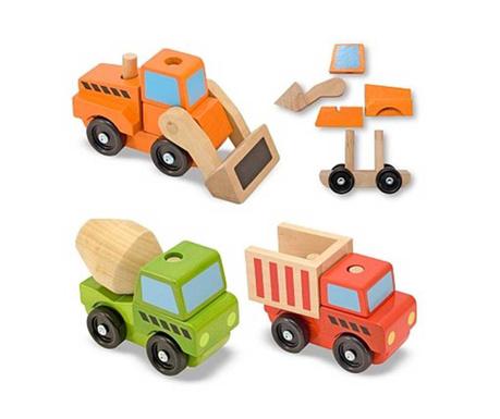 Builders 3 darabos Játék haszongépjármű szett