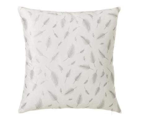 Διακοσμητικό μαξιλάρι Plumes Silver 45x45 cm