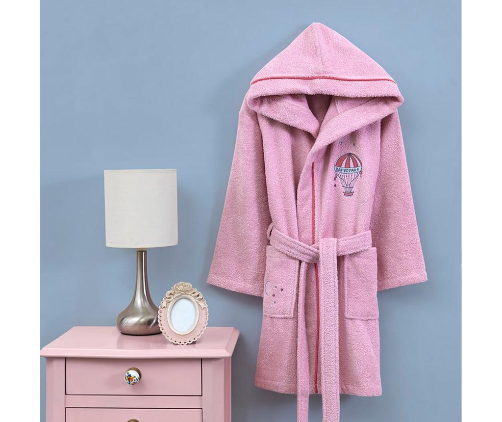 Halat de baie copii Montgo Pink 5-6 ani