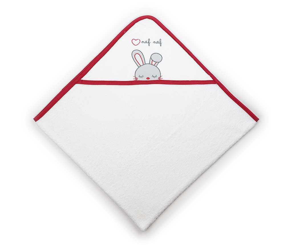 Rabbit Kapucnis fürdőszobai törölköző