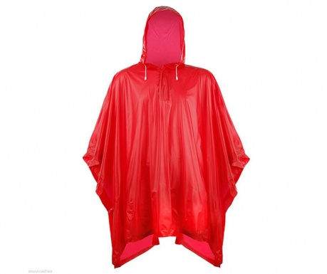 Αδιάβροχο unisex Falconetti Rain Lover Red