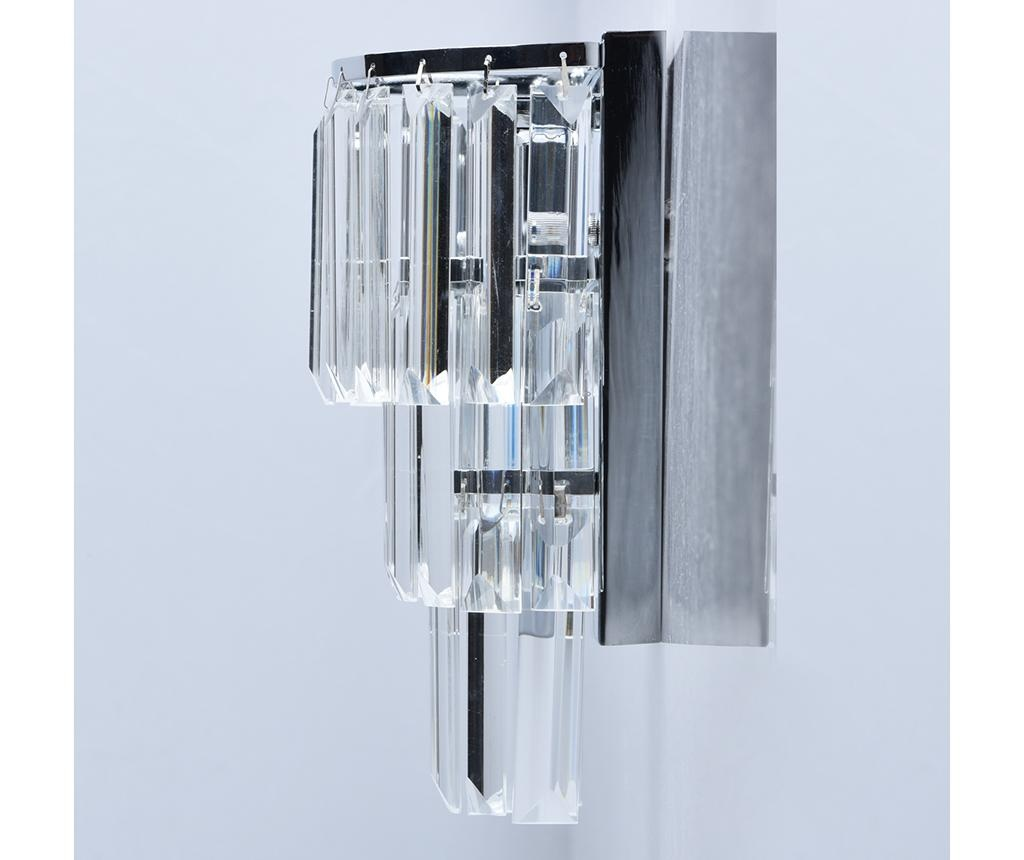 Aplica de perete Adelard Rain Silver