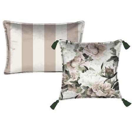 Sada 2 dekoračních polštářů Lili