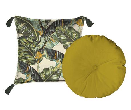 Sada 2 dekoračních polštářů Musa