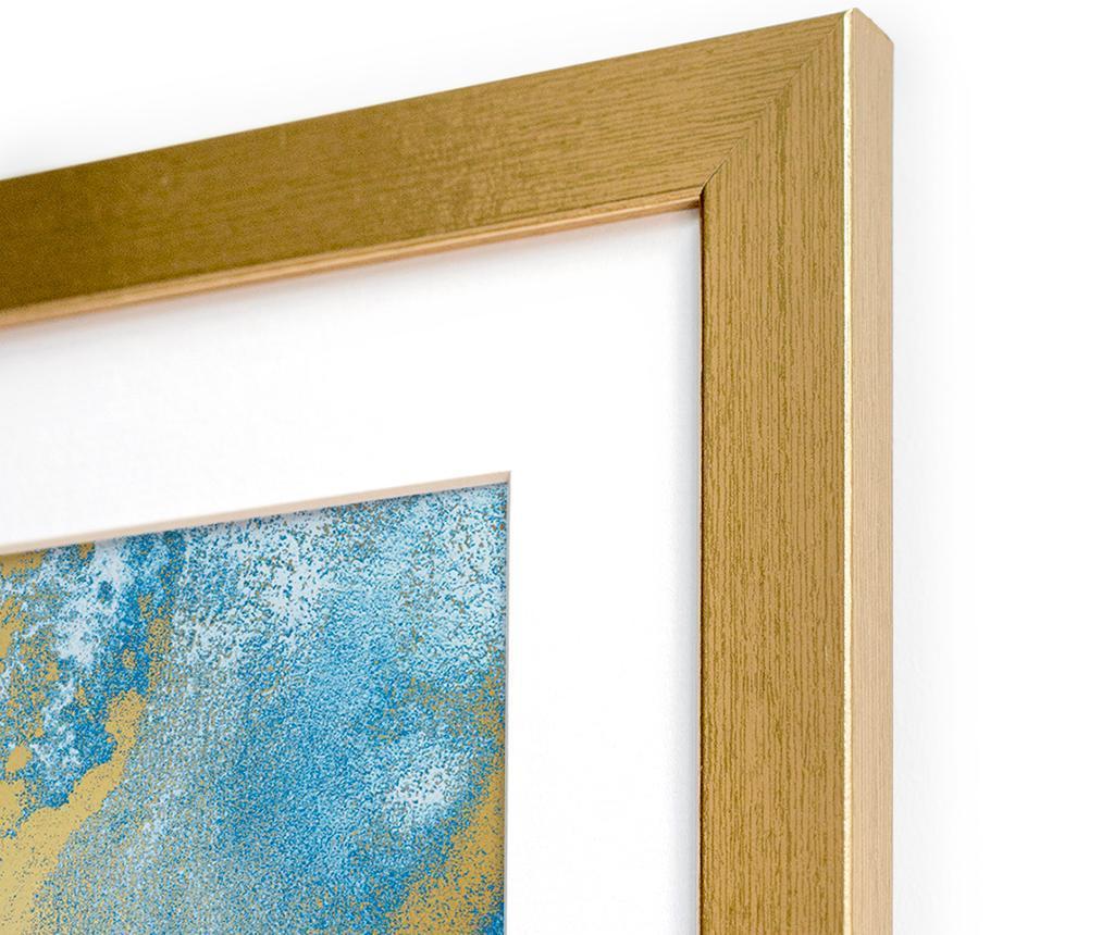 Tablou Watercolor Metallic 40x60 cm
