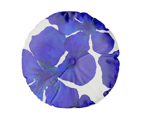 Dekorační polštář Blue Flowers 45 cm