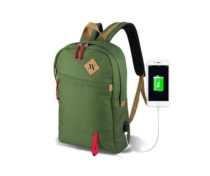 Plecak USB Abily Green