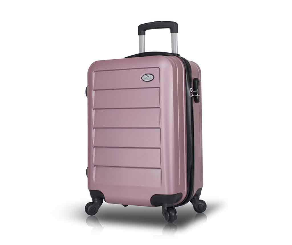 Iuki Rose Gold Gurulós bőrönd