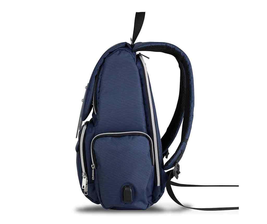 Geanta pentru scutece USB Ciaran Dark Blue