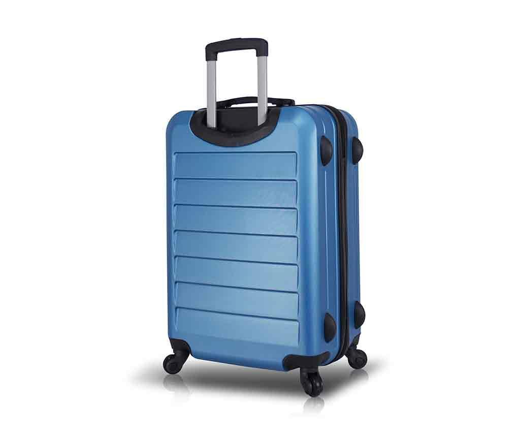 Iuki Blue Gurulós bőrönd