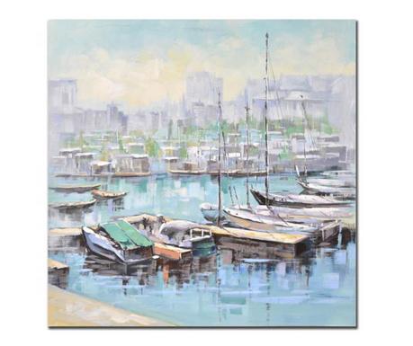 Obraz Dock 100x100 cm