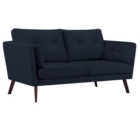 Elena Dark Blue Kétszemélyes kanapé