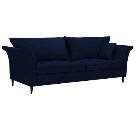 Pivoine Blue Háromszemélyes kihúzható kanapé