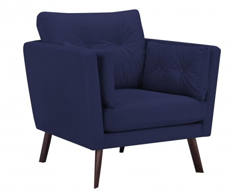 Fotel Elena Navy Blue