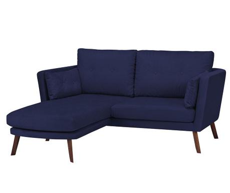 Ляв ъглов диван Elena Navy Blue