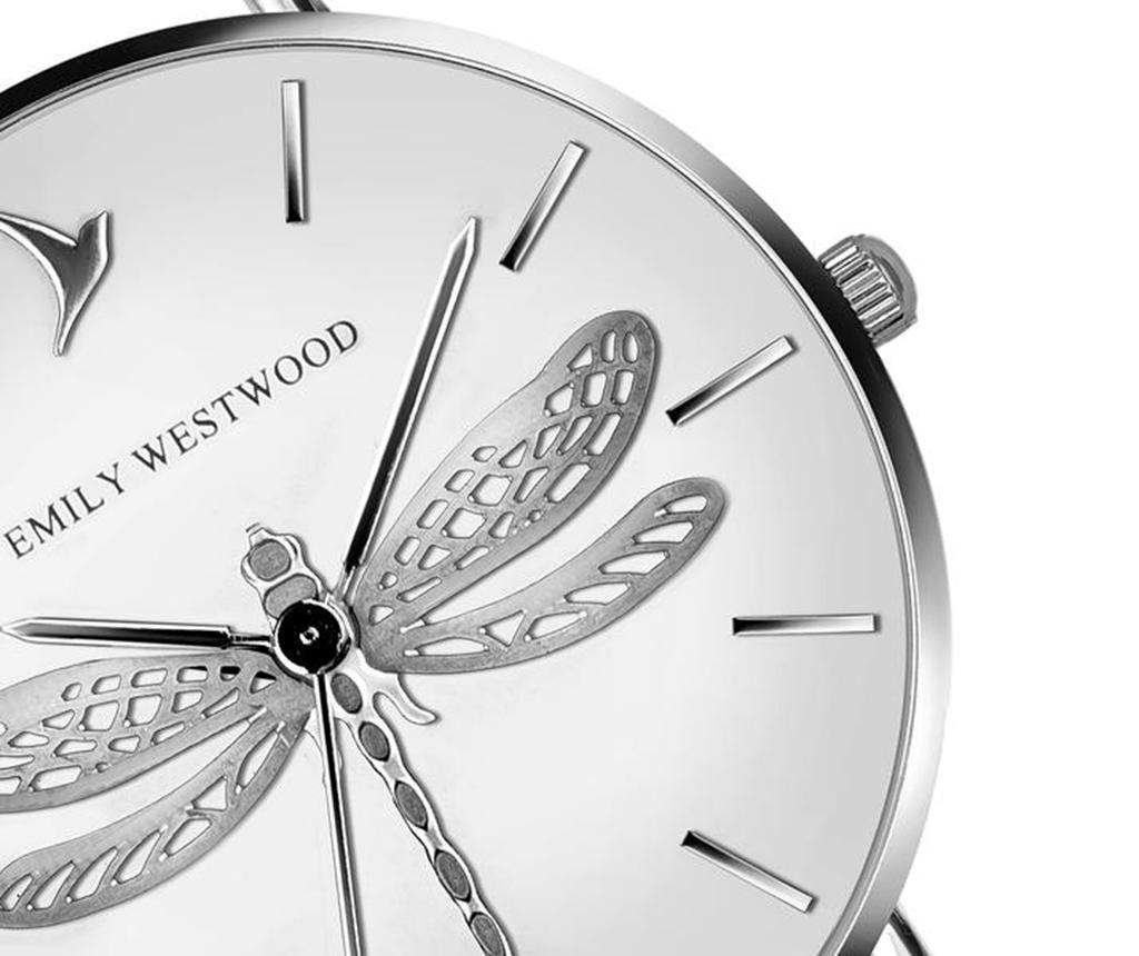Ženski ručni sat Emily Westwood Dragonfly White