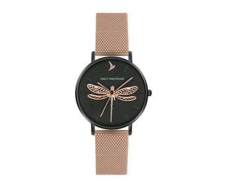 Ženski ručni sat Emily Westwood Dragonfly Rose