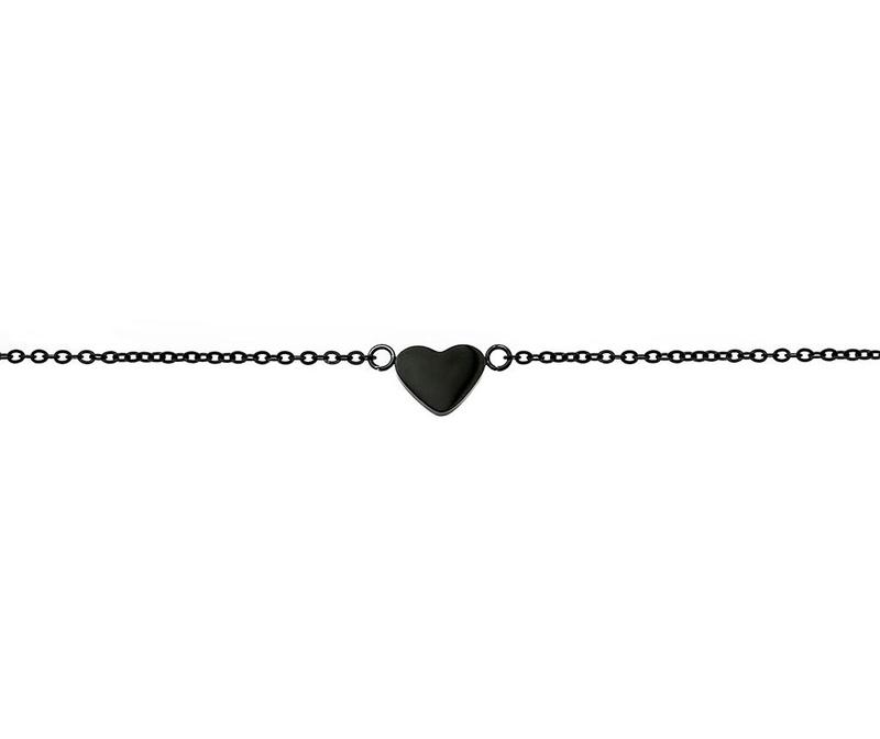 Narukvica Heart Black